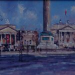 View of the Walker Art Gallery, Liverpool Central Library & Wellington's Column