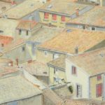 Tiled roofs of a town
