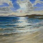 seascape, sunny day, by beach