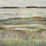 Impressionistic grasses and seas