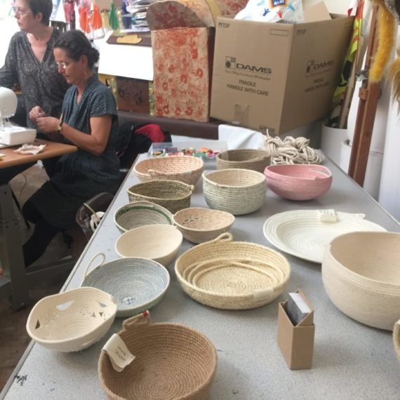 Coil pots with Molly Brown