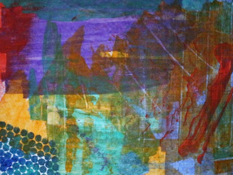 mixed abstract colours