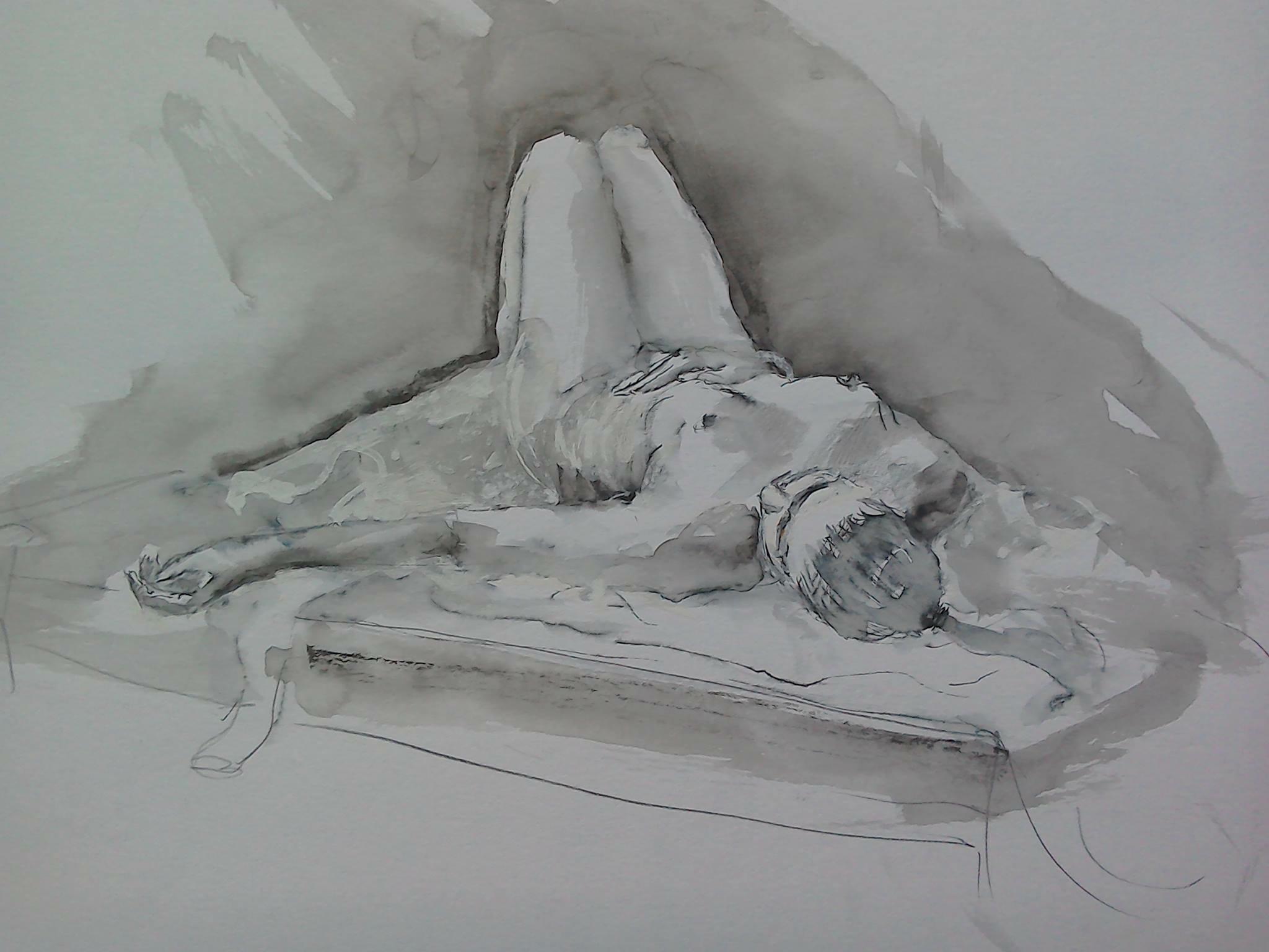 Nude by Paul Gatenby